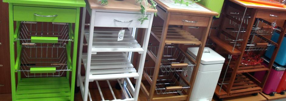 Viste tu cocina con mueble auxiliar - blog de latiendawapa