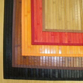 Alfombras de bambú para pasillos