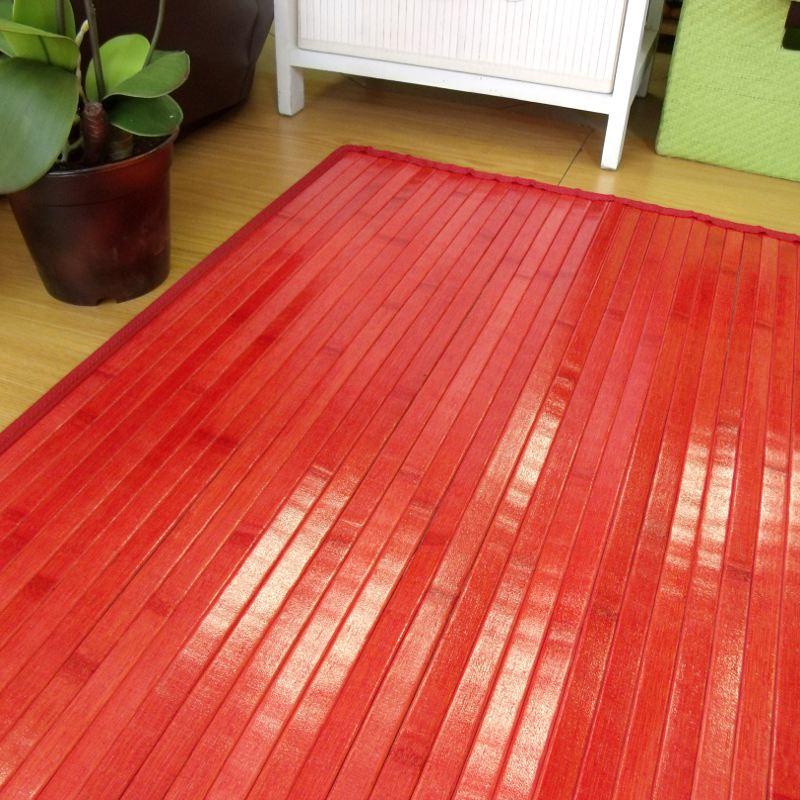 Alfombra de bambú para dormitorio o salón
