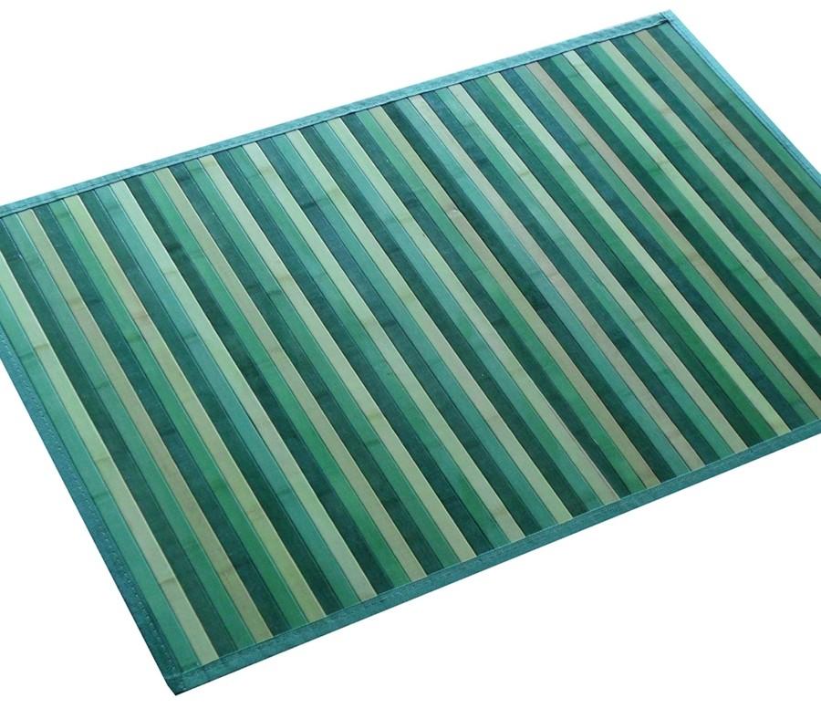 Alfombras de bambú de lámina ancha