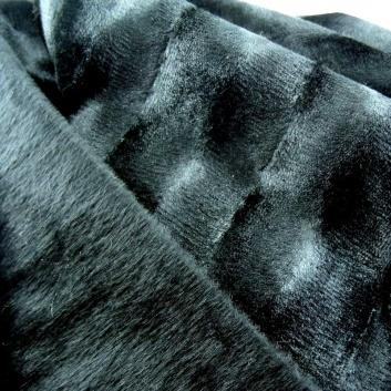 Detalle de la manta negra