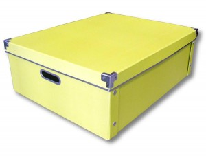 Caja plegable de cartón