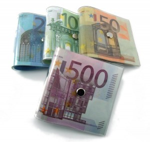 Sujetapuertas de euros