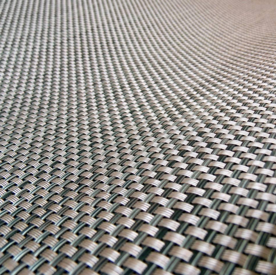 Textura de la alfombra de vinilo trenzado