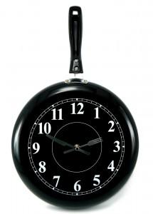 Reloj de sartén