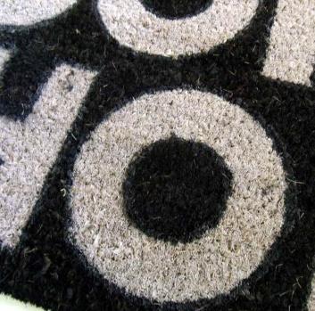 Textura del felpudo