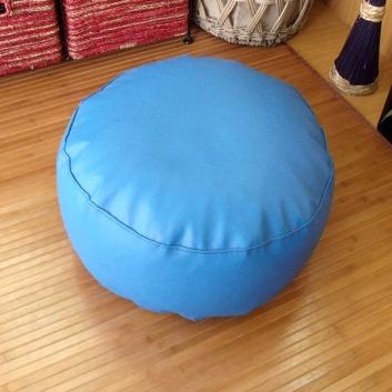 Puff azul cobalto