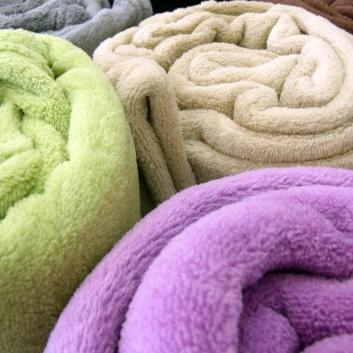 Mantas de sofá de colores
