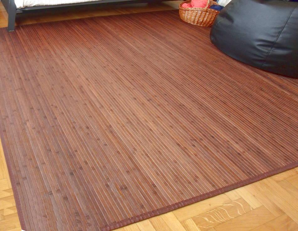 Alfombras de bambú para salón