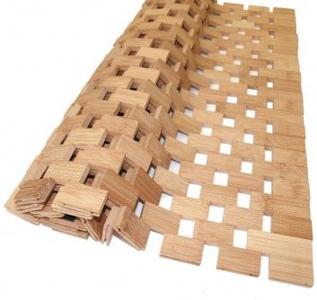 Eslabones de bambú