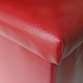 Arcón plegable rojo
