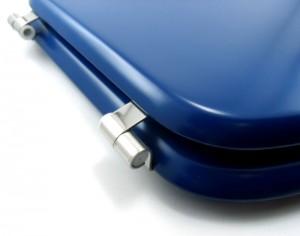 Tapa inodoro azul