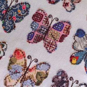 Mariposas en cojín