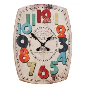 Gran reloj de pared estilo retro