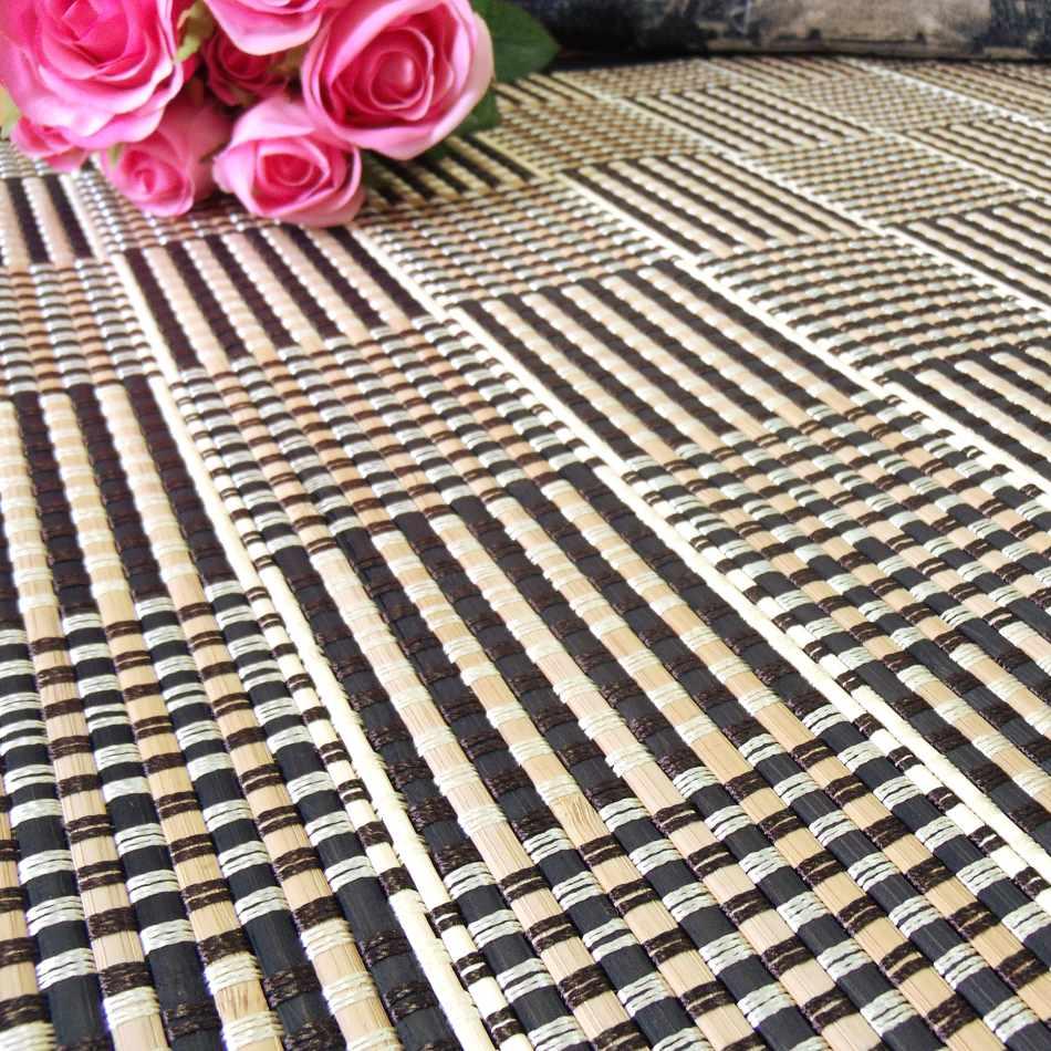 Ampliación de la alfombra de bambú