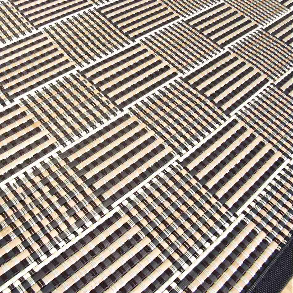 Alfombra de bambú lámina estrecha
