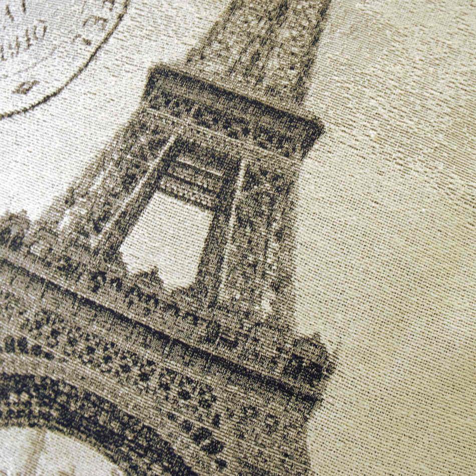 La Torre Eiffel, en cojín