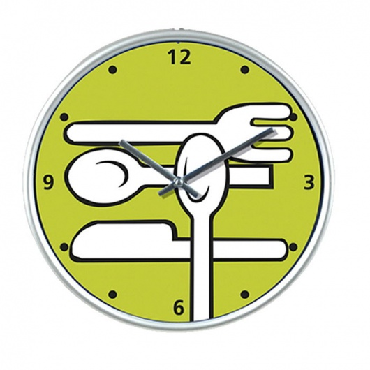 Reloj de cocina redondo