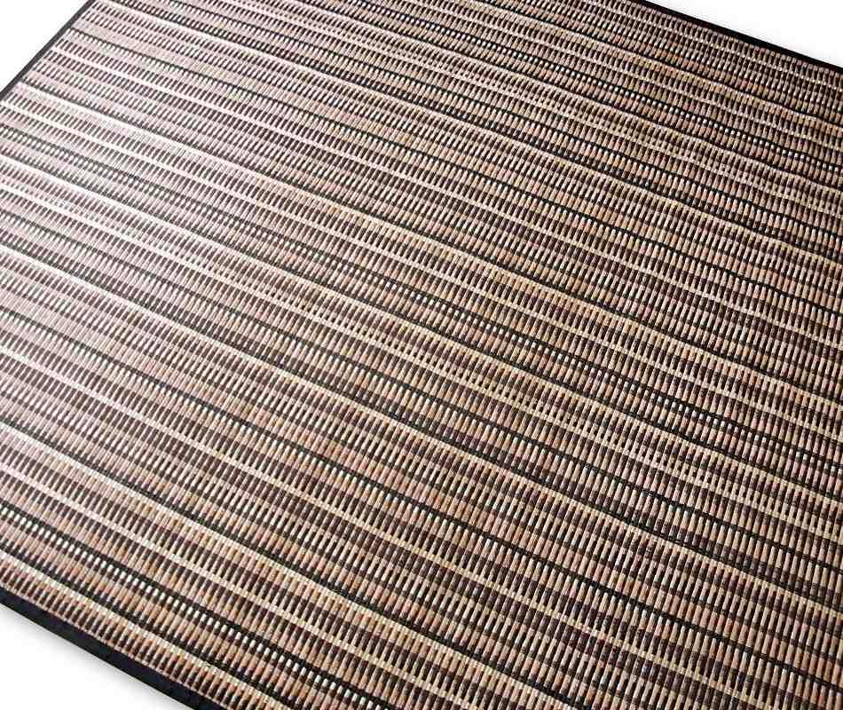 Alfombra de bambú grande