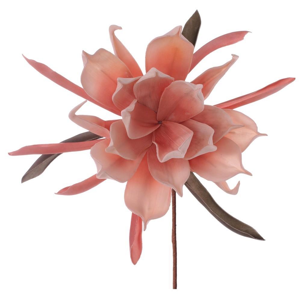 Flores decorativas artificiales