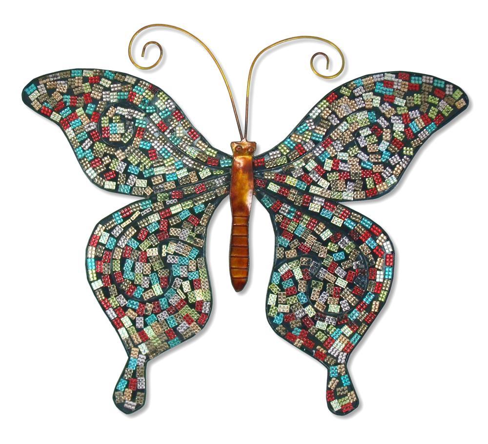 Mariposa con brillantes