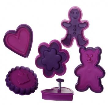 Moldes con formas para galletas