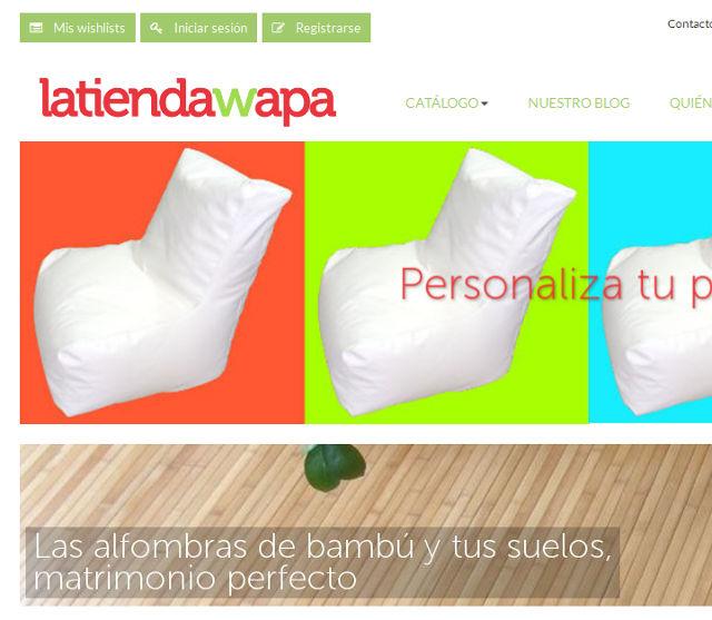 La nueva web de latiendawapa
