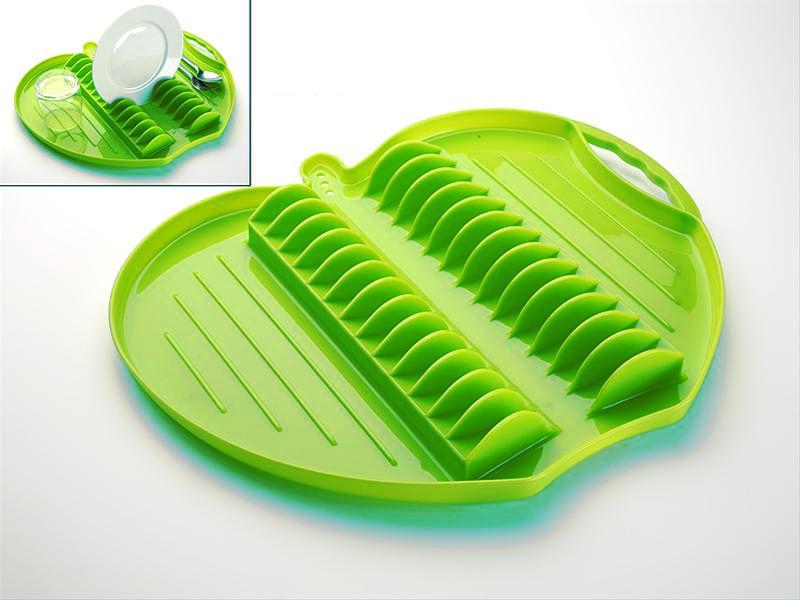 Escurridor platos verde