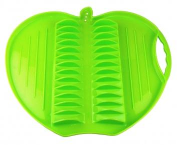 Escurreplatos con forma manzana