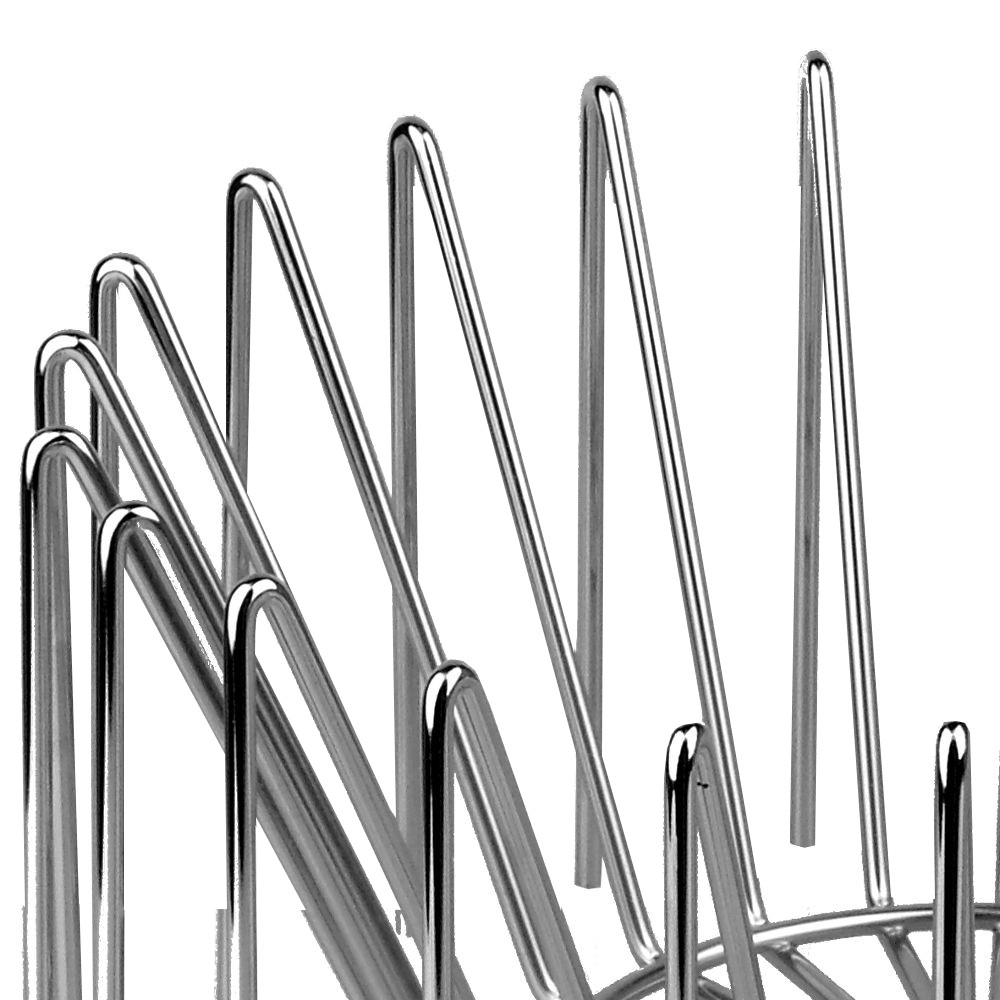 Frutero de metal de diseño