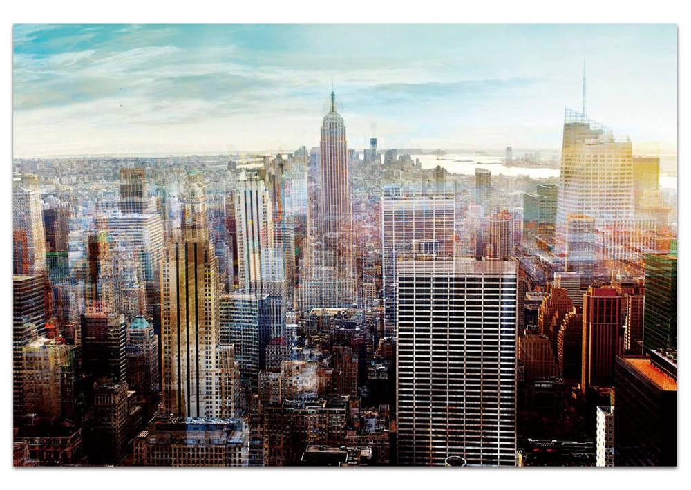 Cuadro cristal Nueva York