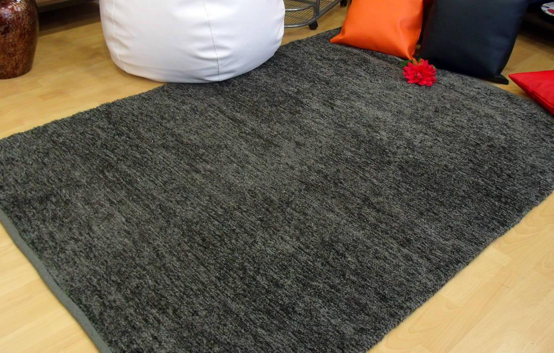 Alfombra reversible gris