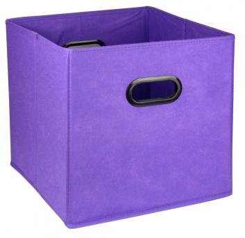 Caja de ordenación lila