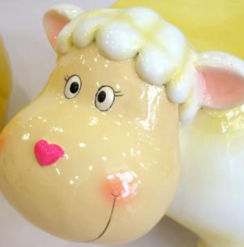 Asiento oveja para niños
