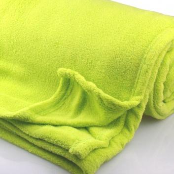 Manta color verde