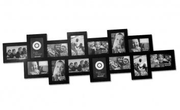 Portafotos mural de 14 fotos