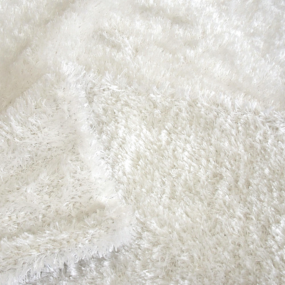 Alfombra en color blanco