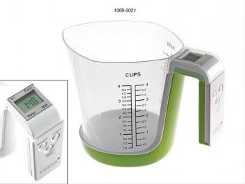 Medidor de cocina con balanza