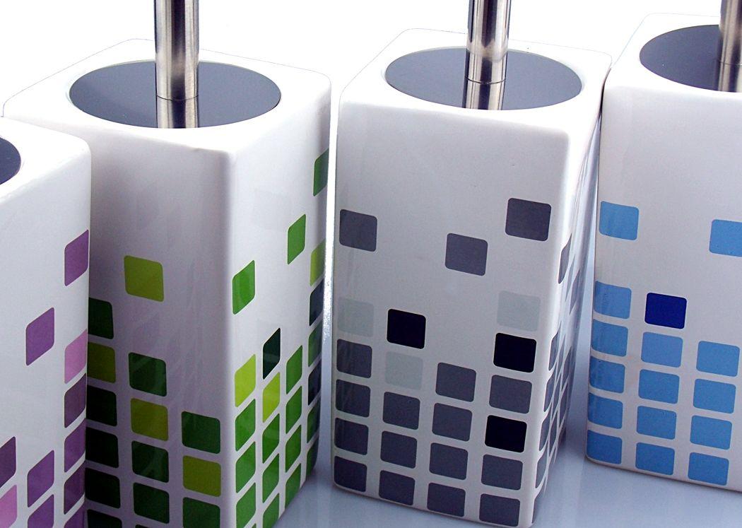 Escobilleros de cerámica de colores