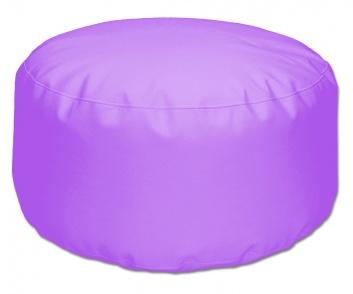 Puff blando redondo lila