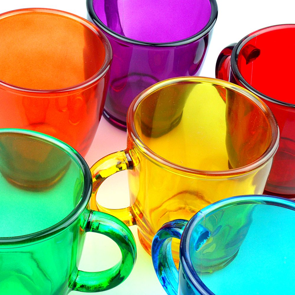 Tazas de cristal