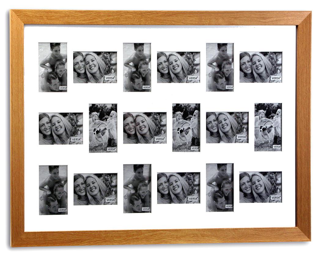 Marcos de fotos de 18 espacios