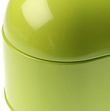 Panera con tapa ovalada verde