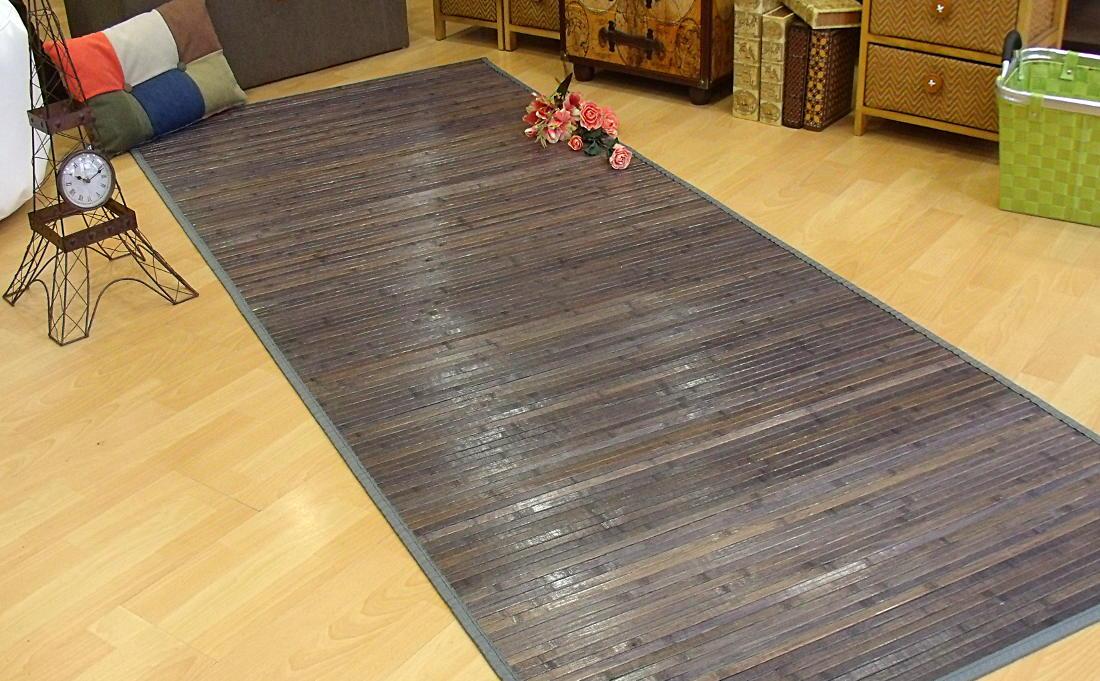 Alfombra de bambú para pasillo