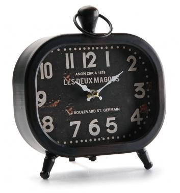 Reloj de metal para mesa