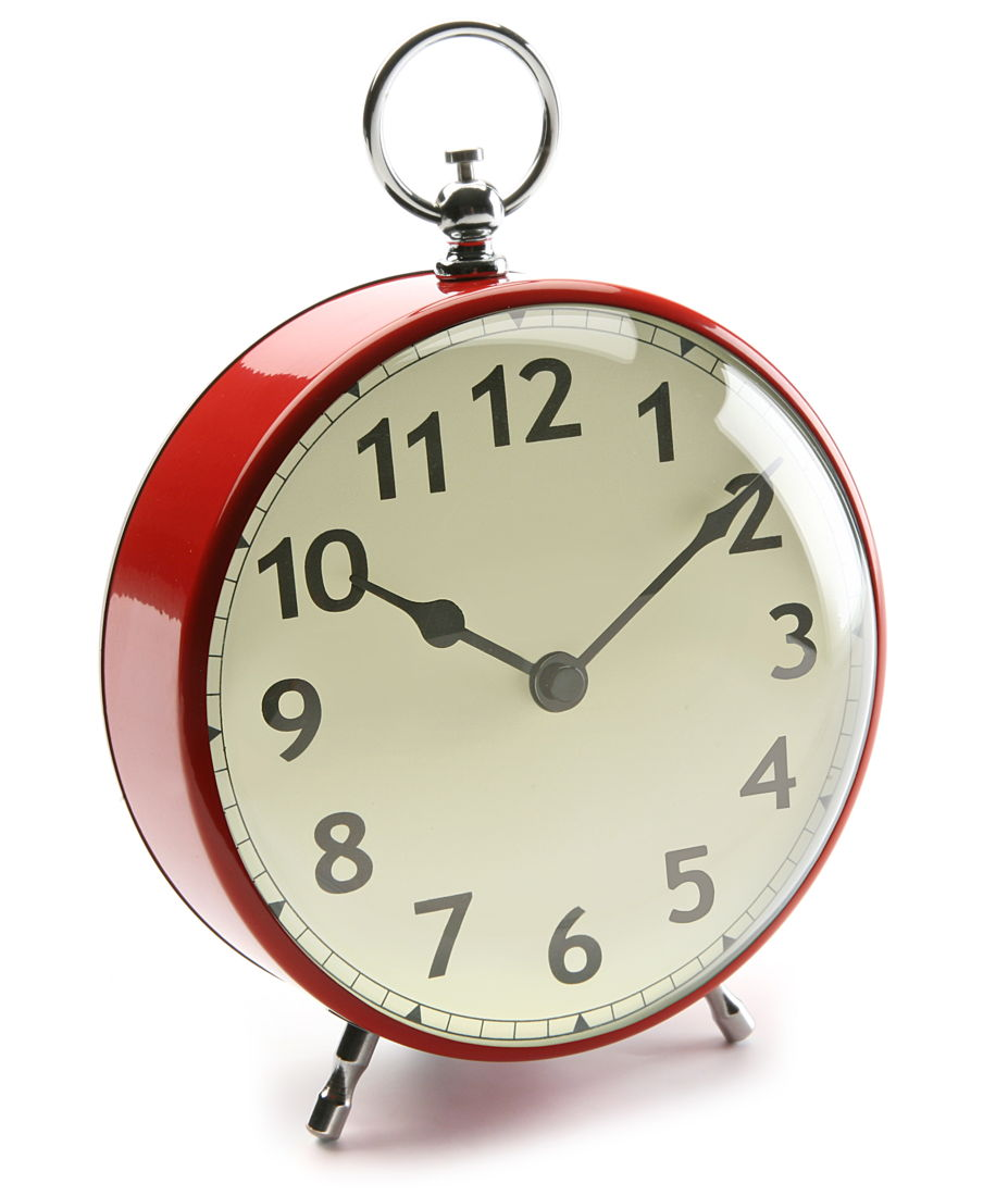 Reloj redondo de mesa