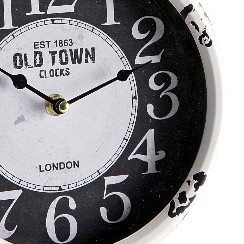 Reloj de mesa redondo