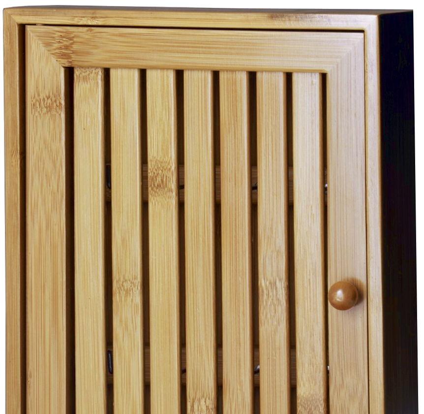Cajita de bambú para llaves