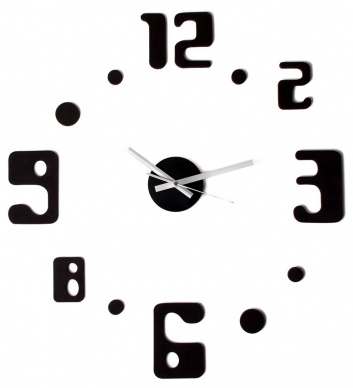 Reloj mural de espuma