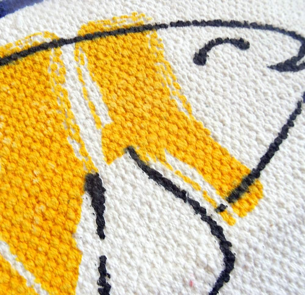Alfombra de algodón 80 cm